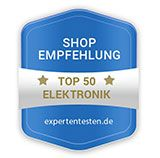 Top 50 - Shop-Empfehlung - expertentesten.de