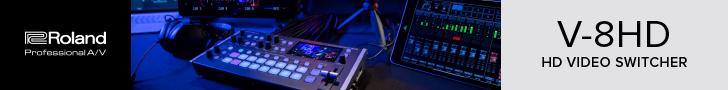 Roland V-8HD Video Switcher kaufen im TONEART-Shop