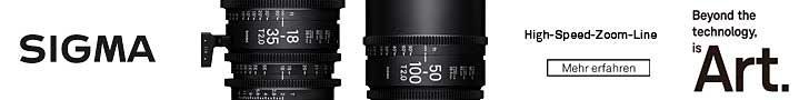 Sigma Higspeed Zoom Lenses kaufen im TONEART-Shop