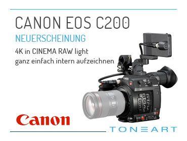 Canon EOS C200 - TONEART-Shop