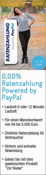 0,00 Prozent Ratenzahlung PayPal