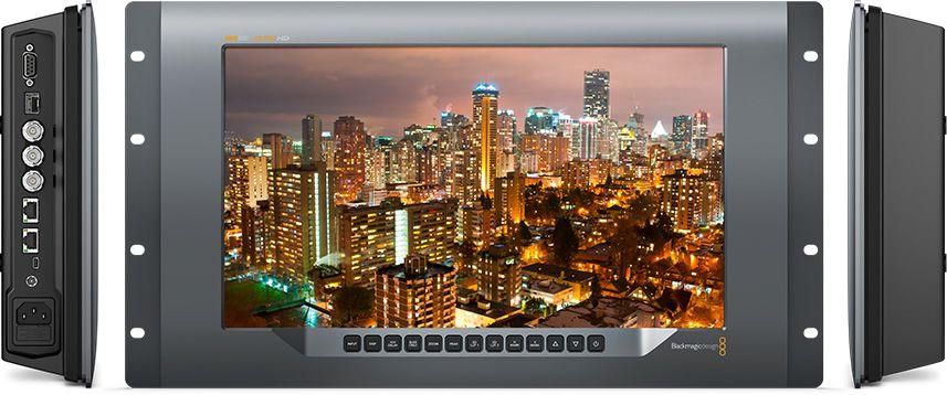 Blackmagic Design SmartView 4K City-Skyline aufzeichnung