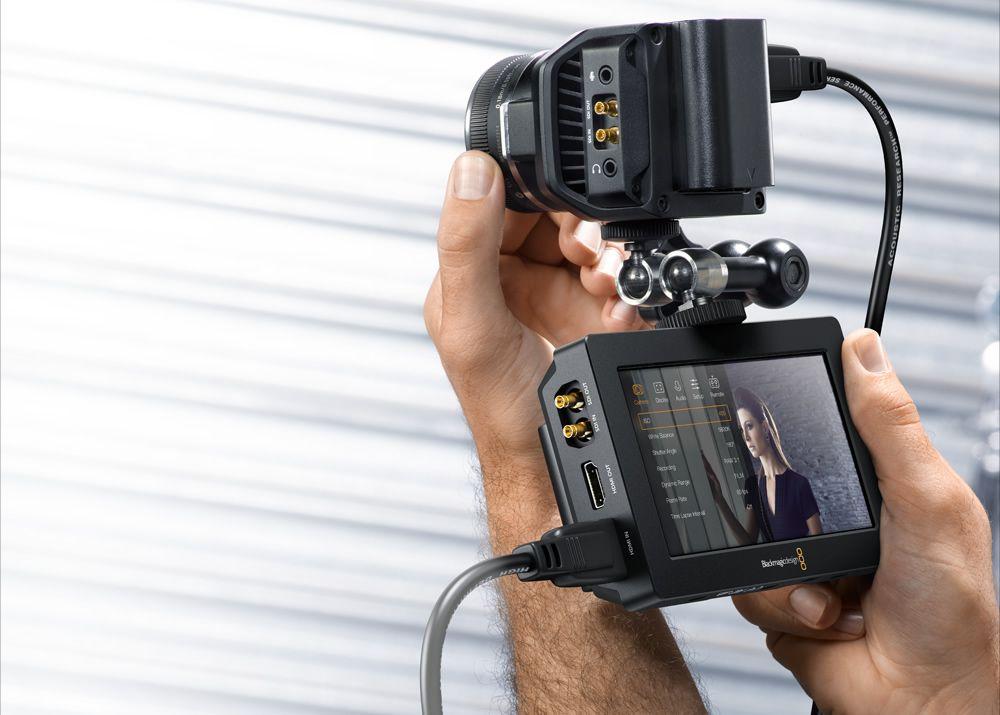 Blackmagic Video Assist mit SDI- und HDMI Anschlüssen