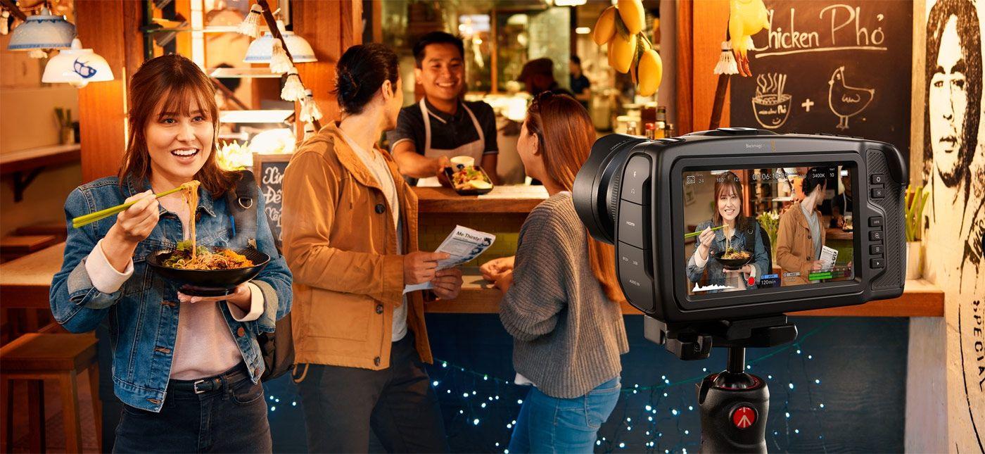 Professioneller Filmlook mit Blackmagic Design Pocket Cinema Camera 4K