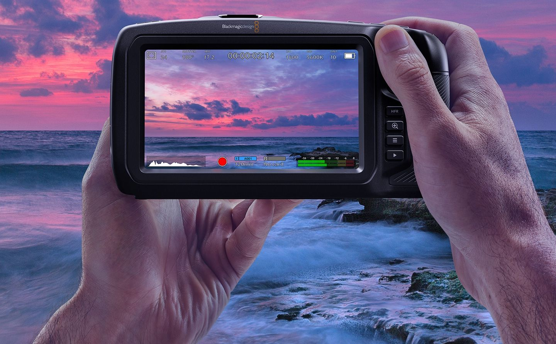 Blackmagic Pocket Camera mit Low Light Sensor