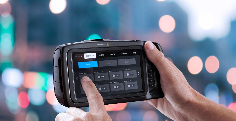 Blackmagic Pocket Camera Menüführung