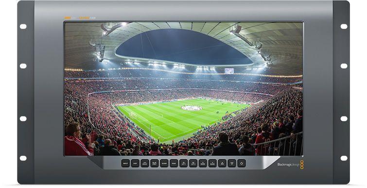 Blackmagic Design SmartView 4K Monitor mit Stadiumaufzeichnung