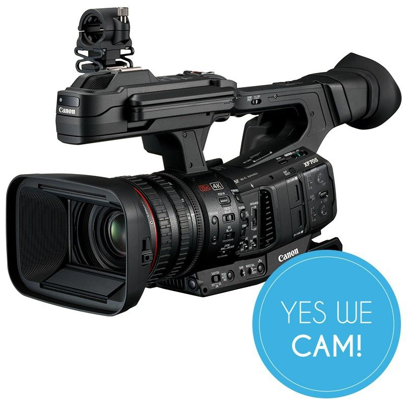 Das Flaggschiff der Canon XF-Serie - der neue Canon XF705 Camcorder
