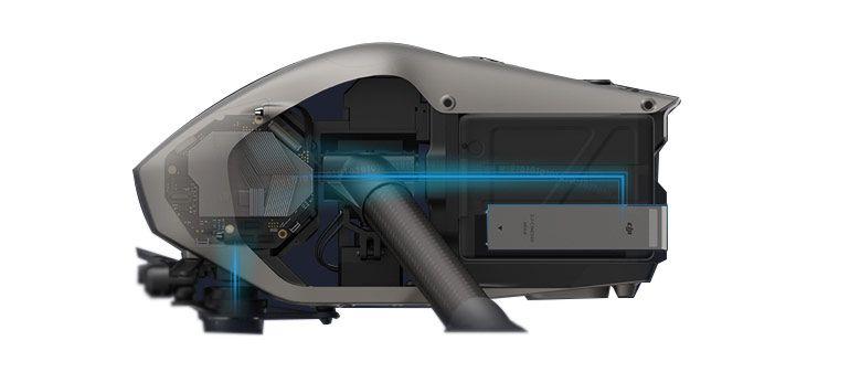 DJI Inspire 2 Quadcopter Processing