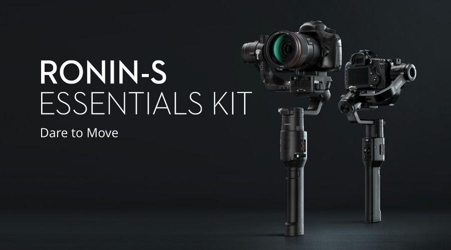 Preiswertes Dji Ronin-S Essentials Kit mit Handheld Gimbal