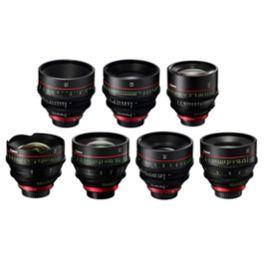 Canon Cine Prime Objektivsatz