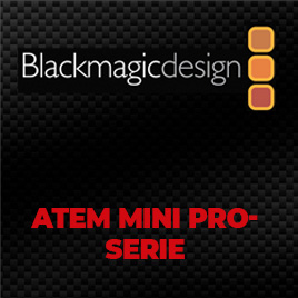 Blackmagic ATEM Mini Pro-Serie im TONEART-Shop