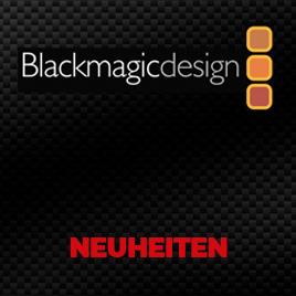 Blackmagic Design Neuheiten im TONEART-Shop