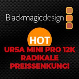 Blackmagic URSA 12K - Radikale Preissenkung im TONEART-Shop