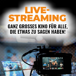 Live-Streaming im TONEART-Shop
