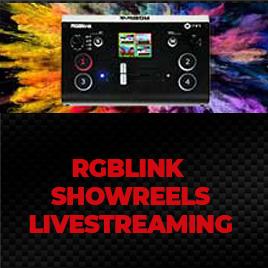 RGBLINK  Showreels Livestreaming im TONEART-Shop