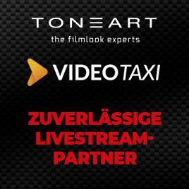TONEART x Video.Taxi – Alles für Ihren Livestream! im TONEART-Shop