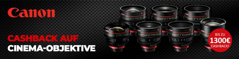 Canon Cinema-Objektive Cashback-Aktion - TONEART-Shop