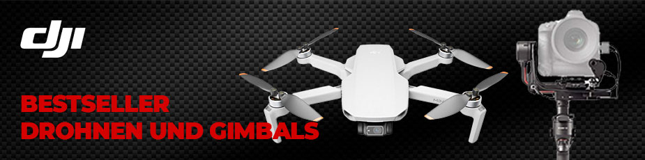 DJI Bestseller - Drohnen und Gimbals