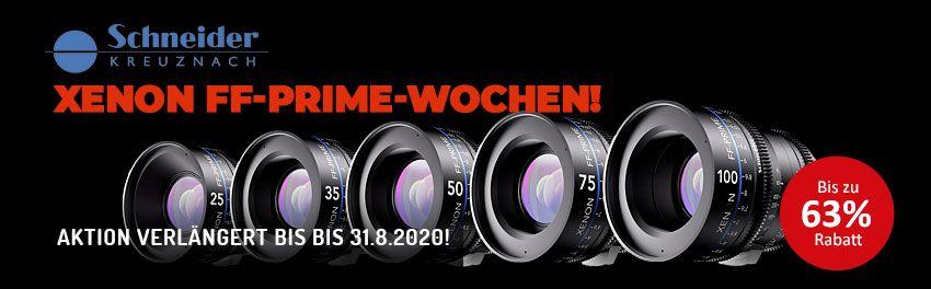 Schneider-Kreuznach Xenon FF-Prime-Wochen - TONEART-Shop