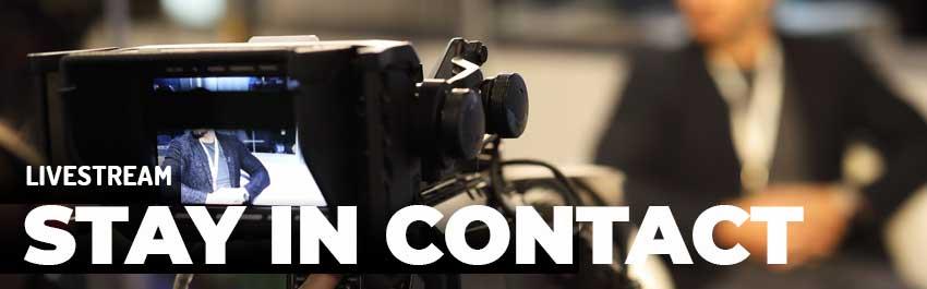 Stay in contact! - Kameras für Livestreaming und Aufzeichnungen - TONEART-Shop