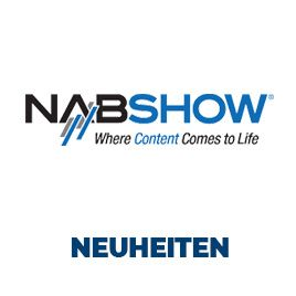 NAB-Show Neuheiten