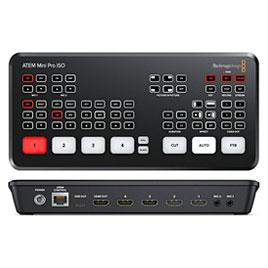 Blackmagic URSA Mini Pro 12K - Blackmagic ATEM Mini Pro - ATEM Geräte