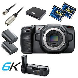 Pocket Cinema Camera 6K - Bundle