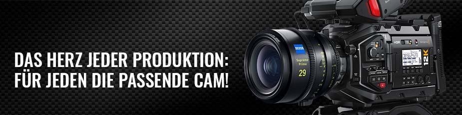 Camcorder - Das Herz jeder Produktion - Für jeden die passende Cam