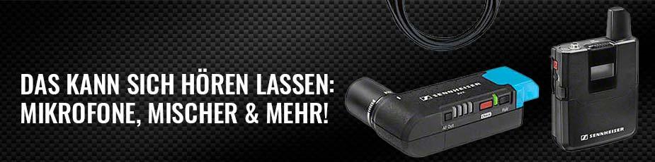 Ton - Das kann sich hören lassen - Mikrofone, Mischer und mehr!