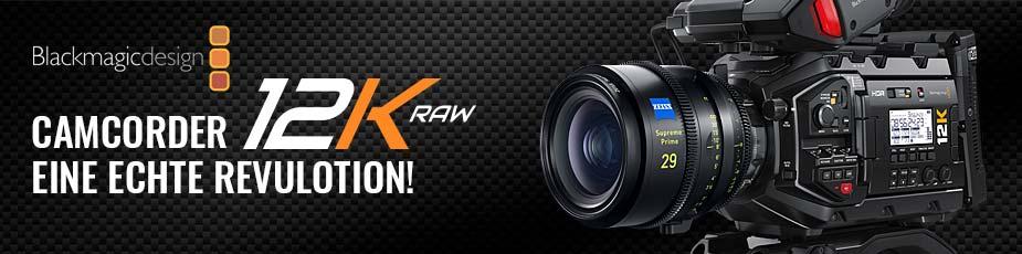 Blackmagi Design Camcorder 12K RAW - TONEART-Shop