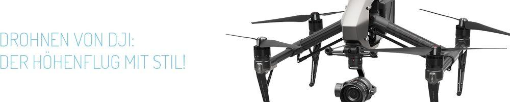 Drohnen von DJI - Der Höhenflug mit Stil