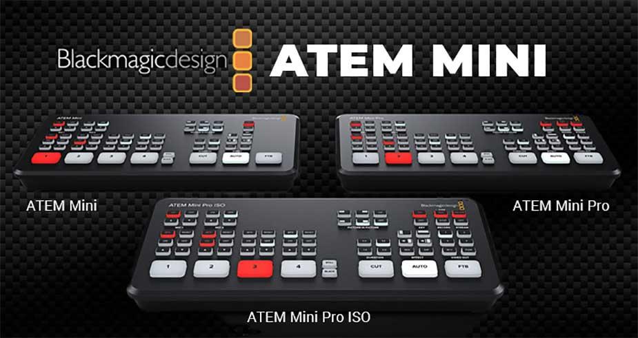 Blackmagic Design ATEM Bildmischer - TONEART-SHOP
