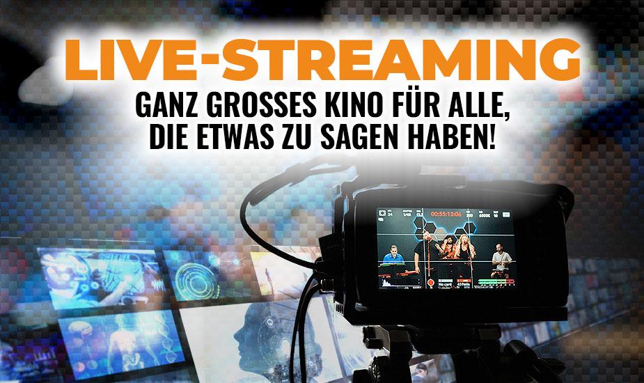 Mit Live-Streaming viele Menschen professionell erreichen
