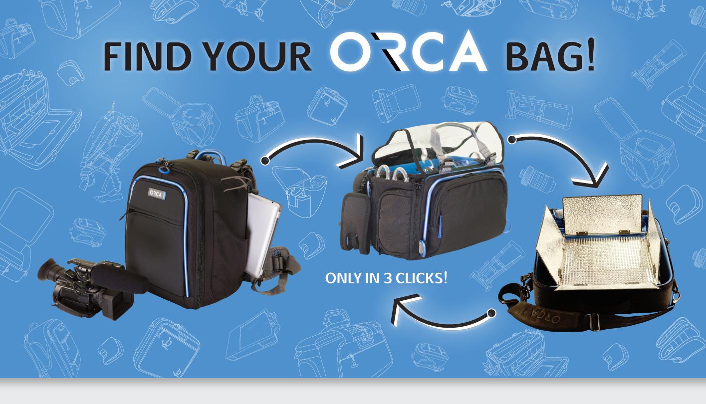Orca Bag Finder