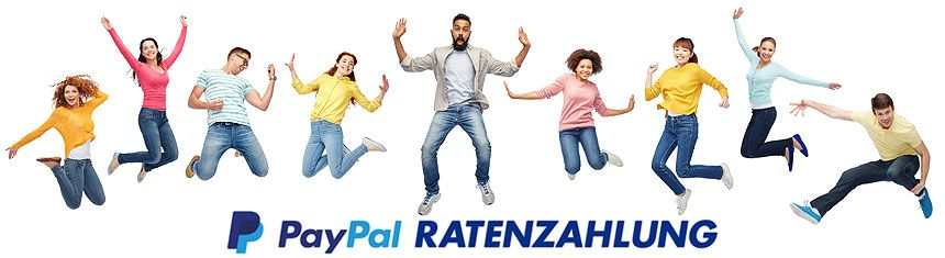 PayPal Ratenzahlung - TONEART-Shop