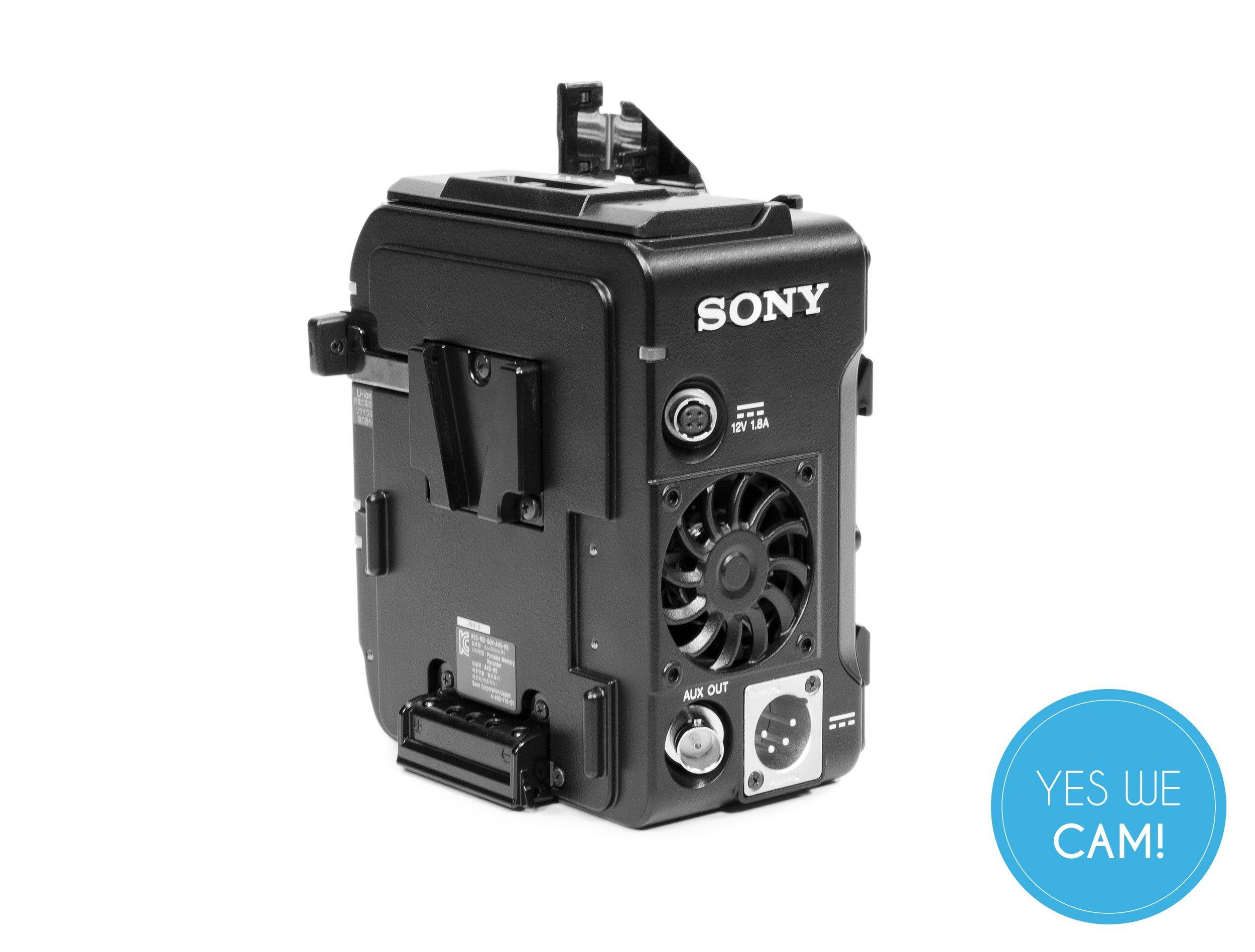 Sony AXS-R5 Recorder