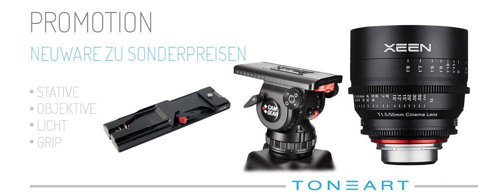 Neue Camcorder und Broadcastequipment zu Sonderpreisen online kaufen