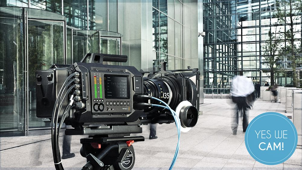 Blackmagic URSA am Set