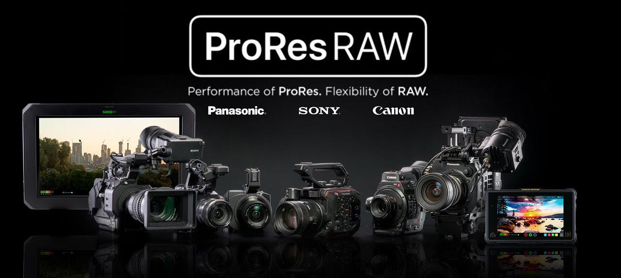 ProRes RAW Update für Atomos Recorder