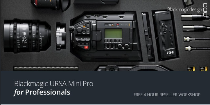 URSA Mini Pro For ProfessionalsA